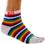 Injinji_performance_series_mincrw_rainbow_white